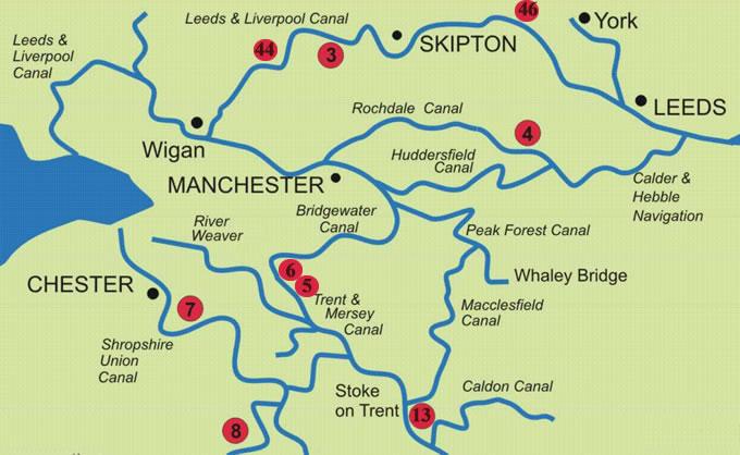 North Of England Map.North Of England Map Cuca Fodida